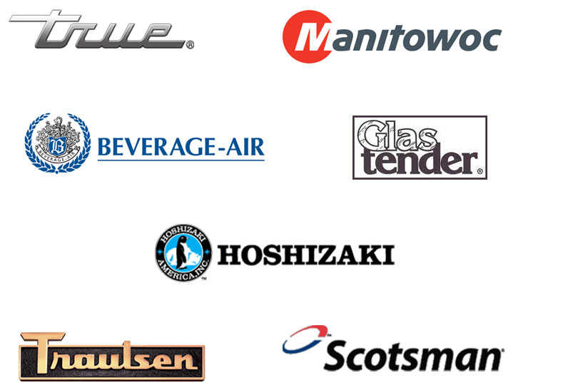 installation, repair, service, new,True, Manitowoc, Bev-Air, Hoshizaki, Traulsen, Scotsman